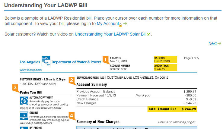 LADWP-Bill
